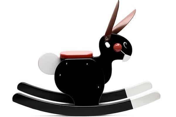 Picture of Rocking Rabbit Black