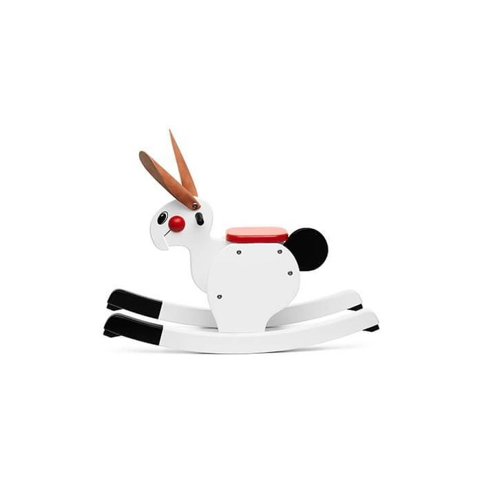 Picture of Rocking Rabbit white
