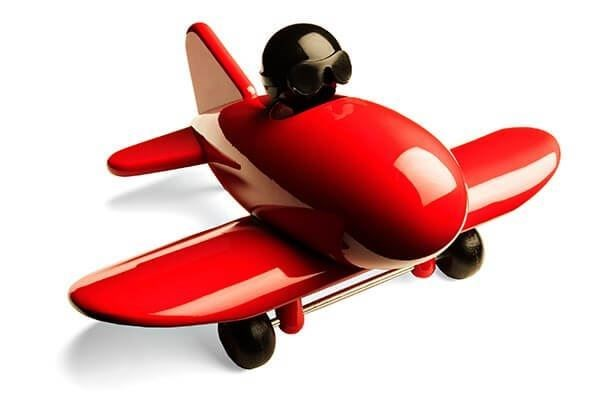 Bild på Jetliner Röd