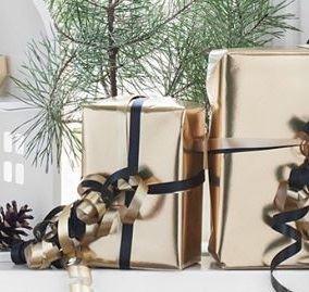 Playsam gift wrapping - Gyllene gåvor