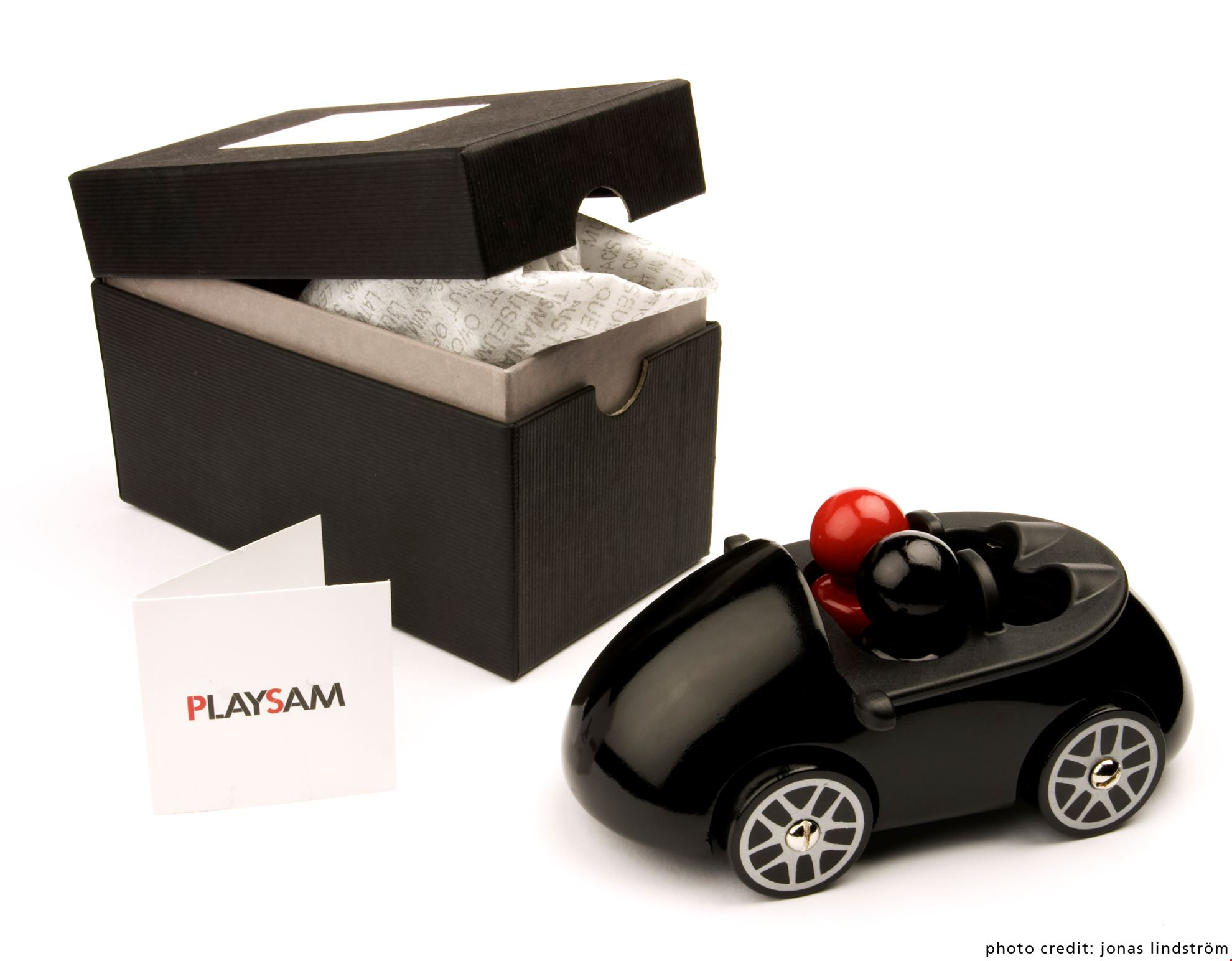 Playsam gift wrapping - Car Box