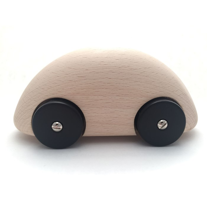 Streamliner wood nature toy car