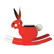 Rocking Rabbit Red